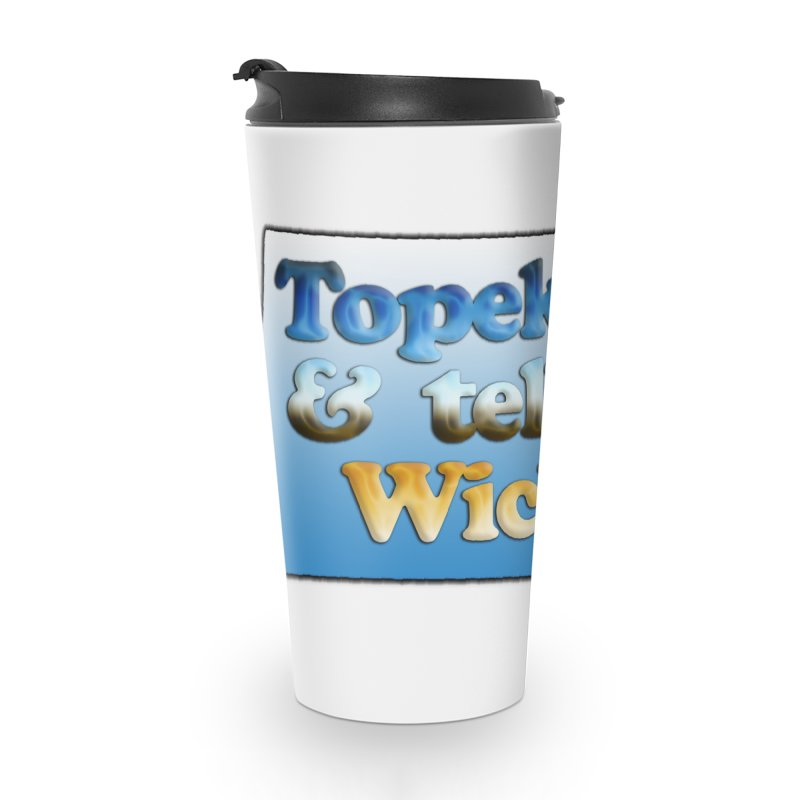 Dad jokes- Kansas edition Accessories Travel Mug by Toban Nichols Studio