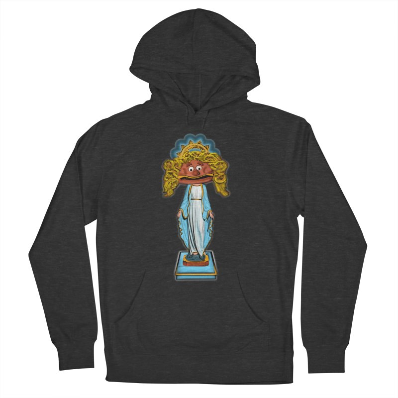BurgerMary Women's French Terry Pullover Hoody by Toban Nichols Studio