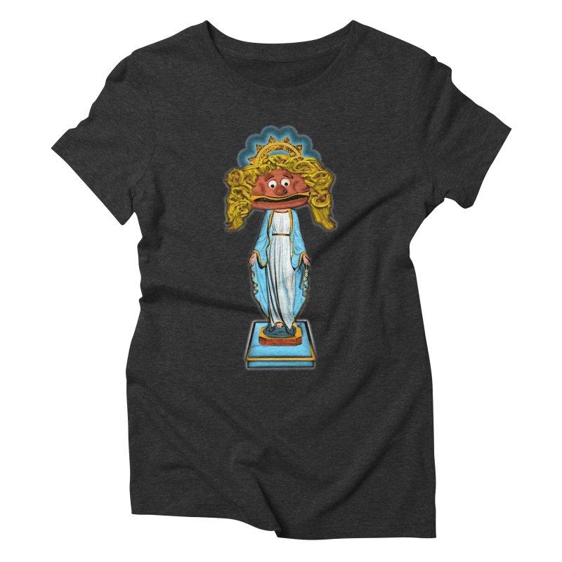 BurgerMary Women's Triblend T-Shirt by Toban Nichols Studio
