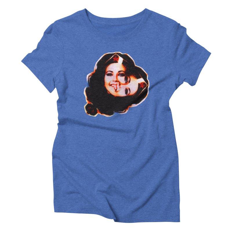 Double You Women's Triblend T-Shirt by Toban Nichols Studio