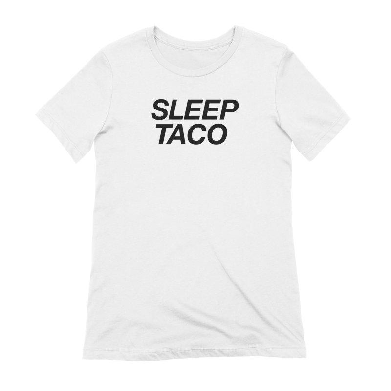 Sleep Taco Women's Extra Soft T-Shirt by Toban Nichols Studio