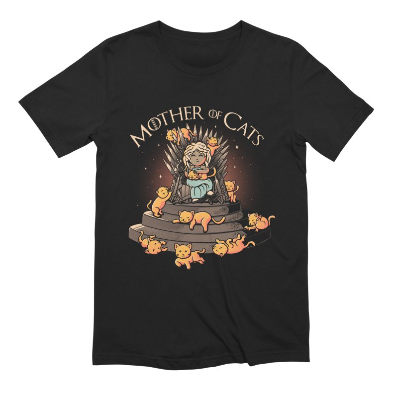 Mother of Cats in Men's Extra Soft T-Shirt Black by Tobe Fonseca's Artist Shop