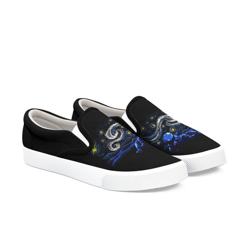 Starry Night Gravity Men's Shoes by Tobe Fonseca's Artist Shop
