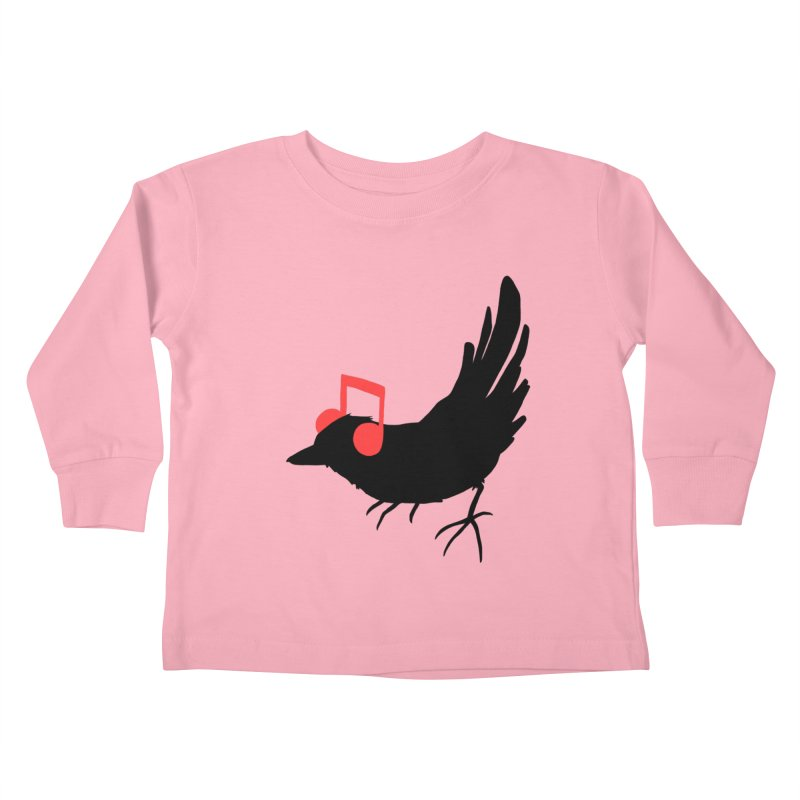 Listening To My Song Kids Toddler Longsleeve T-Shirt by Tobe Fonseca's Artist Shop