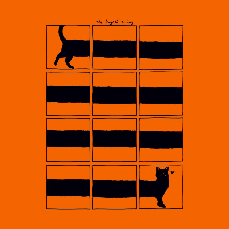 The Longcat Is Long Men's T-Shirt by Tobe Fonseca's Artist Shop