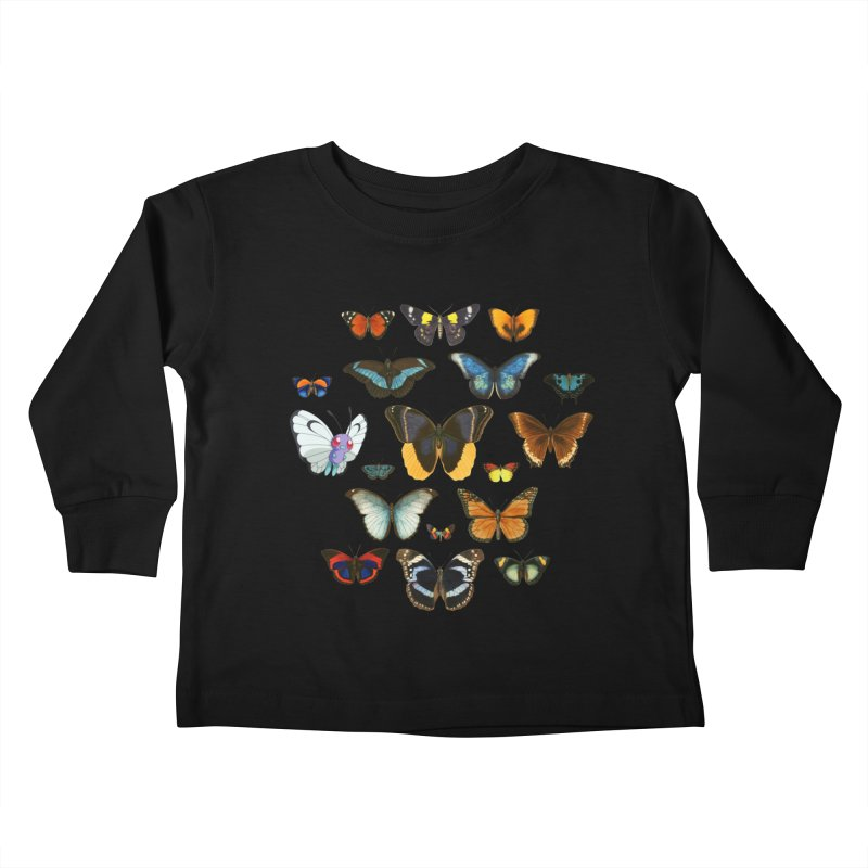 Entomology Kids Toddler Longsleeve T-Shirt by Tobe Fonseca's Artist Shop