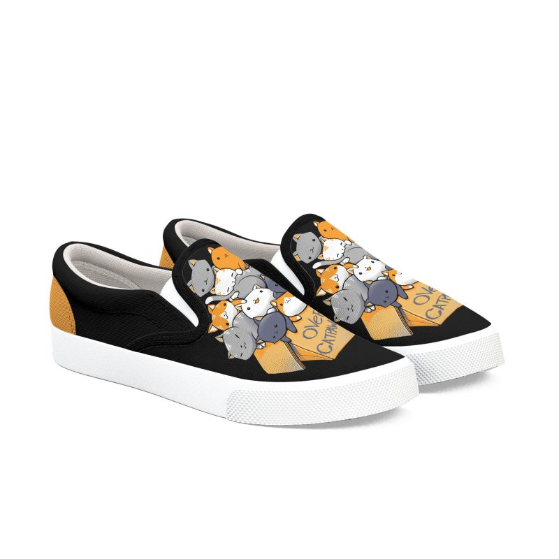 Over Catpawcity Women's Shoes by Tobe Fonseca's Artist Shop