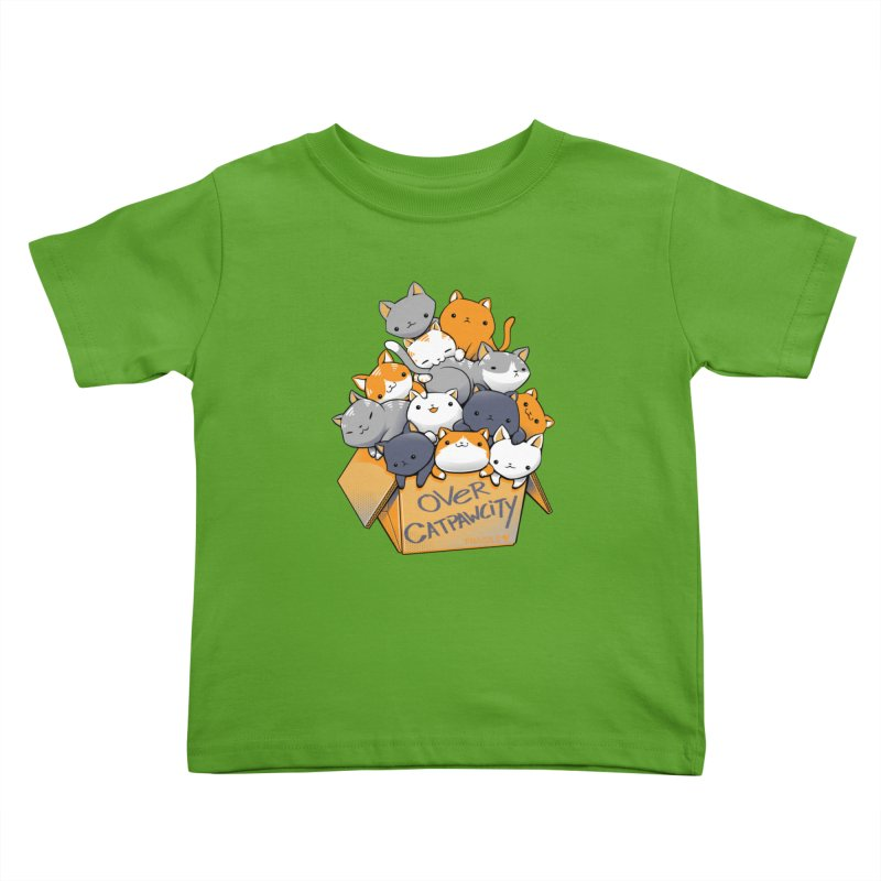 Over Catpawcity Kids Toddler T-Shirt by Tobe Fonseca's Artist Shop
