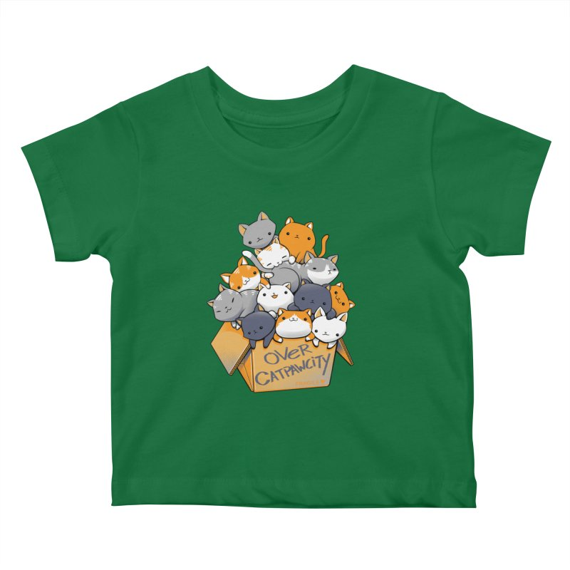 Over Catpawcity Kids Baby T-Shirt by Tobe Fonseca's Artist Shop