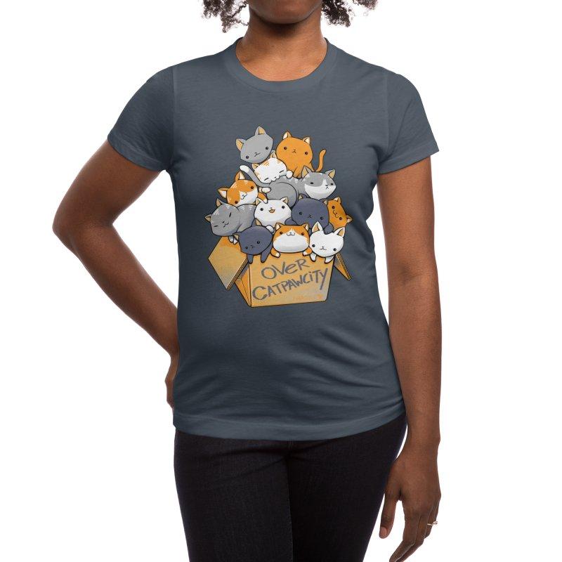Over Catpawcity Women's T-Shirt by Tobe Fonseca's Artist Shop