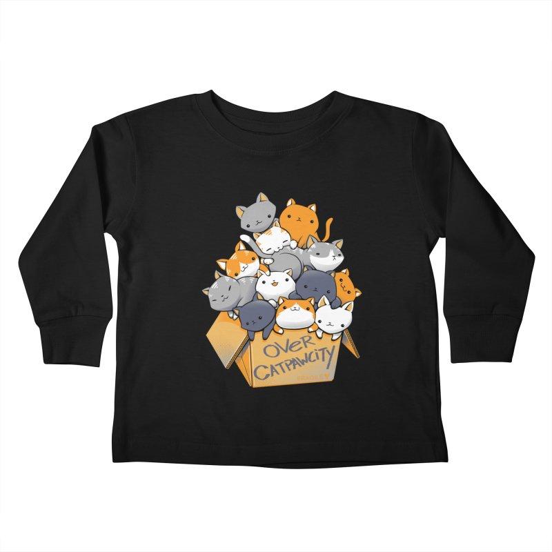 Over Catpawcity Kids Toddler Longsleeve T-Shirt by Tobe Fonseca's Artist Shop