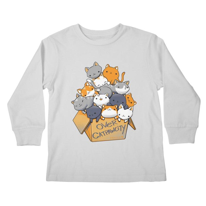Over Catpawcity Kids Longsleeve T-Shirt by Tobe Fonseca's Artist Shop