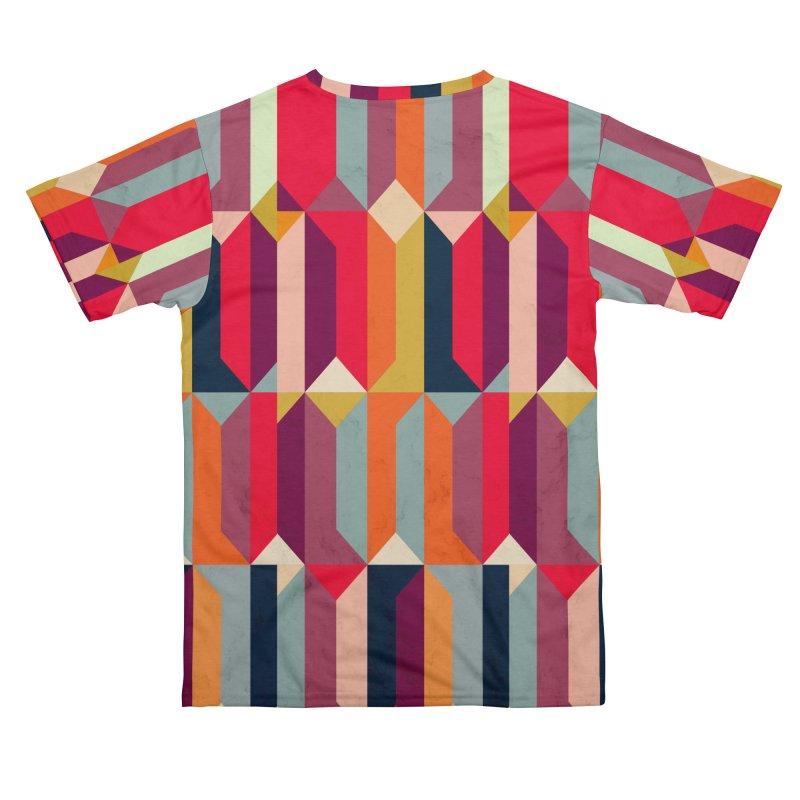 Geometric Icelandic Colors Men's Cut & Sew by Tobe Fonseca's Artist Shop