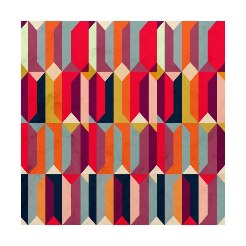 Geometric Icelandic Colors Home Rug by Tobe Fonseca's Artist Shop