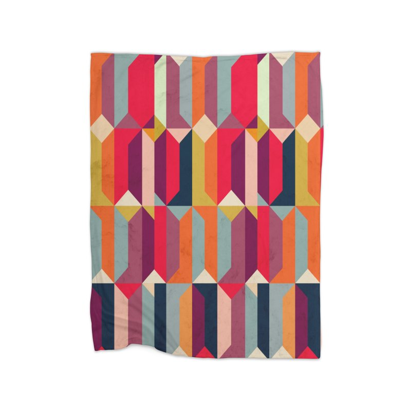 Geometric Icelandic Colors Home Blanket by Tobe Fonseca's Artist Shop