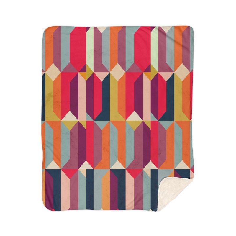 Geometric Icelandic Colors Home Blanket by Tobe Fonseca's Artist Shop