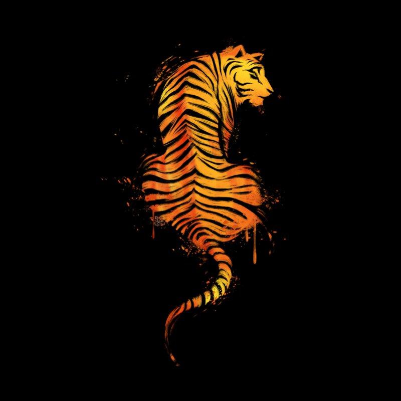 Tiger Ink Men's Cut & Sew by Tobe Fonseca's Artist Shop