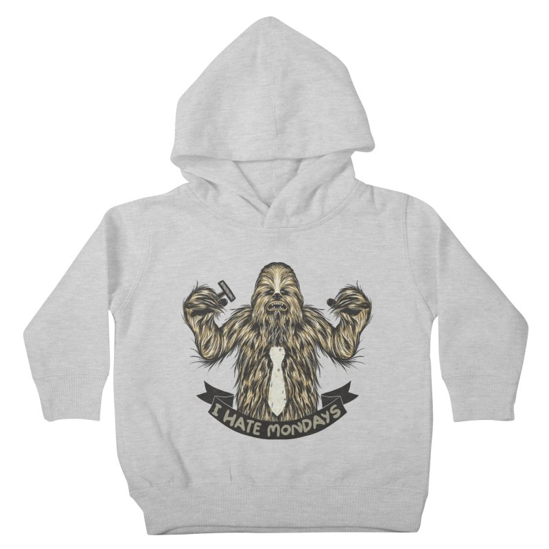 I Hate Mondays Kids Toddler Pullover Hoody by Tobe Fonseca's Artist Shop