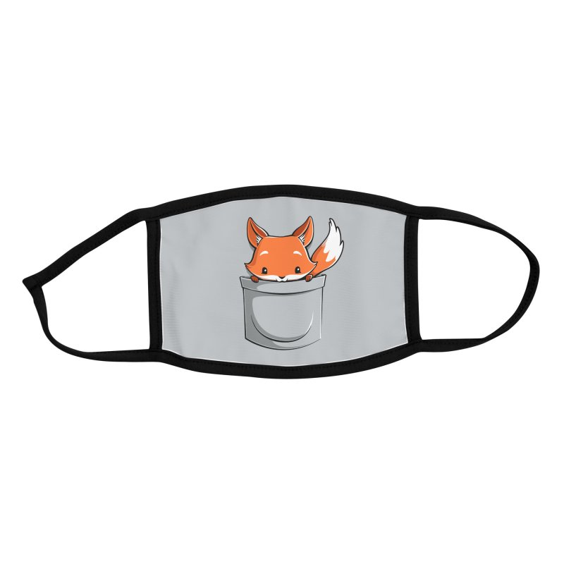 Pocket Fox Accessories Face Mask by Tobe Fonseca's Artist Shop