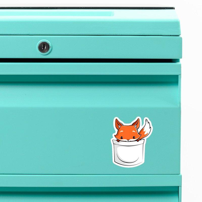 Pocket Fox Accessories Magnet by Tobe Fonseca's Artist Shop
