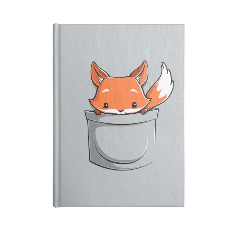 Pocket Fox Accessories Notebook by Tobe Fonseca's Artist Shop