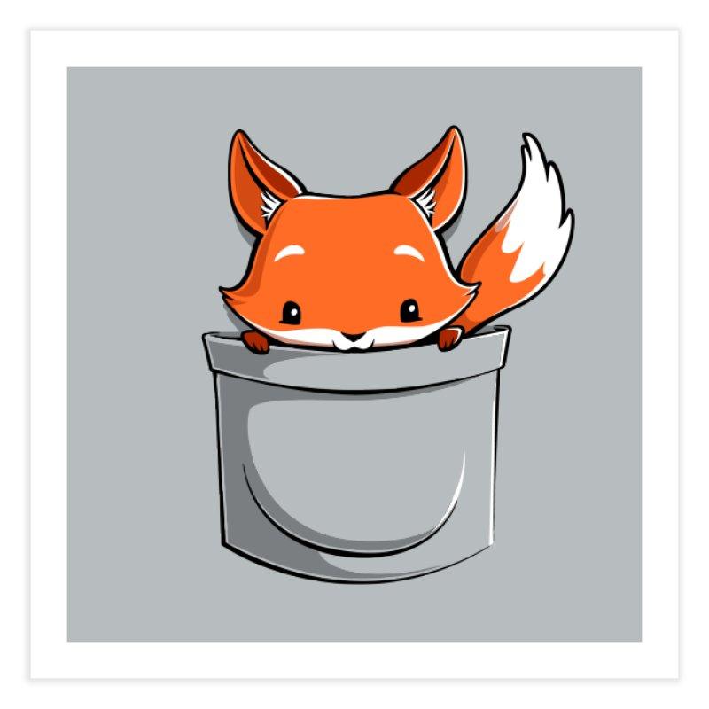 Pocket Fox Home Fine Art Print by Tobe Fonseca's Artist Shop