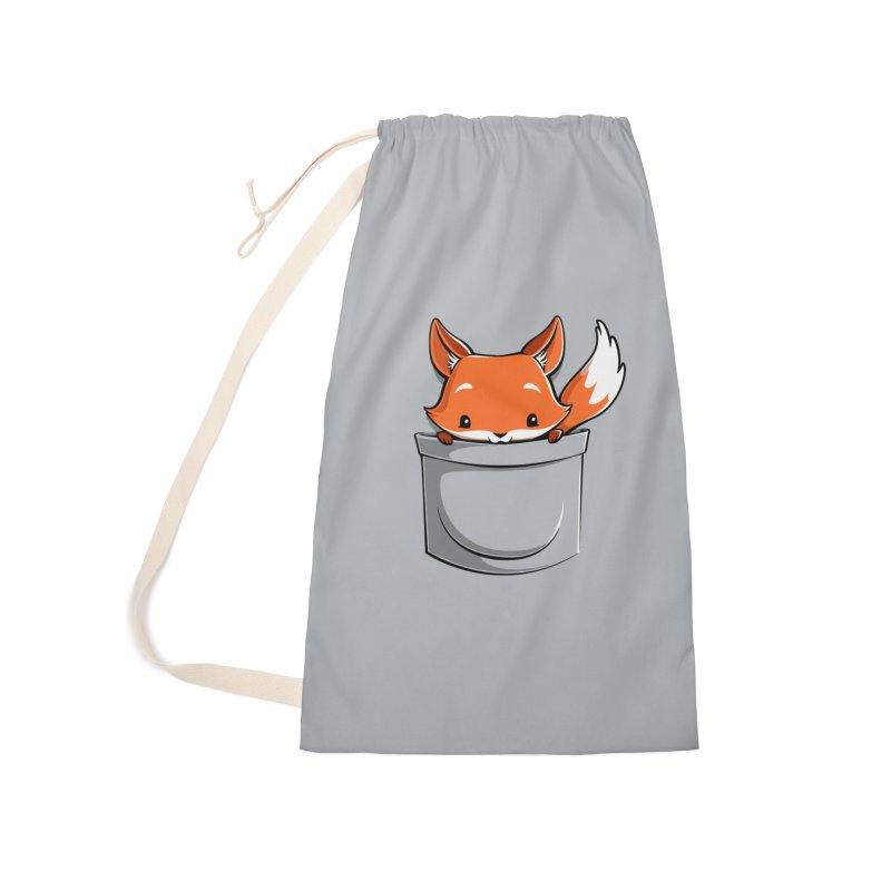 Pocket Fox Accessories Bag by Tobe Fonseca's Artist Shop