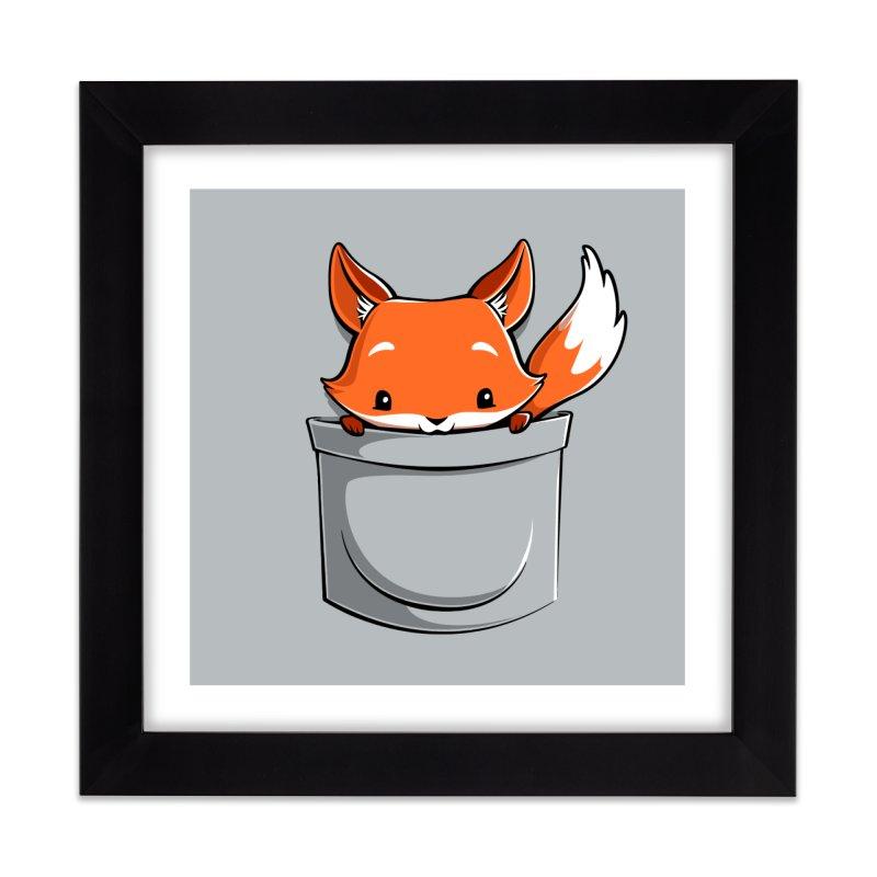 Pocket Fox Home Framed Fine Art Print by Tobe Fonseca's Artist Shop