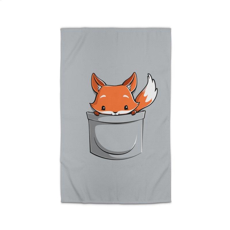 Pocket Fox Home Rug by Tobe Fonseca's Artist Shop
