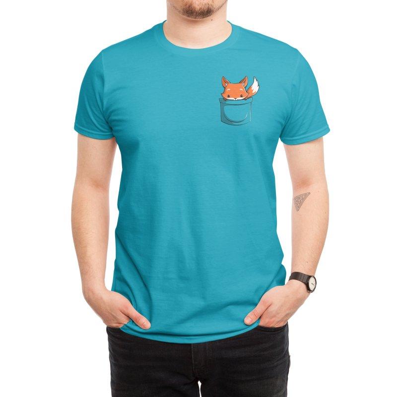Pocket Fox Men's T-Shirt by Tobe Fonseca's Artist Shop