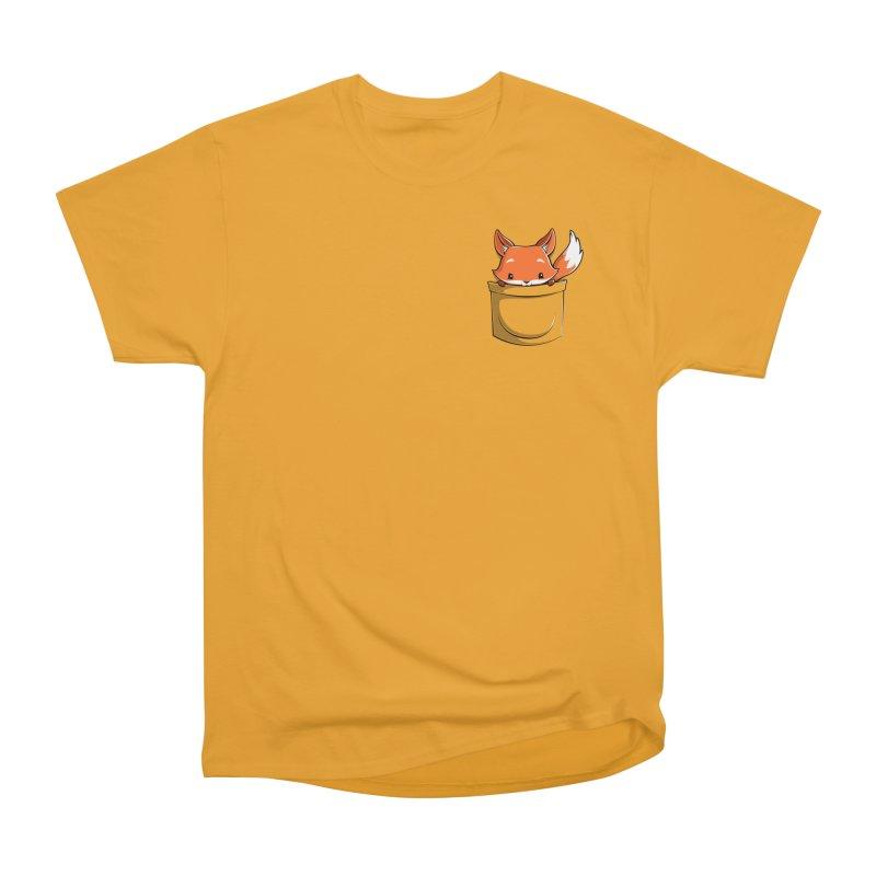 Pocket Fox Women's T-Shirt by Tobe Fonseca's Artist Shop