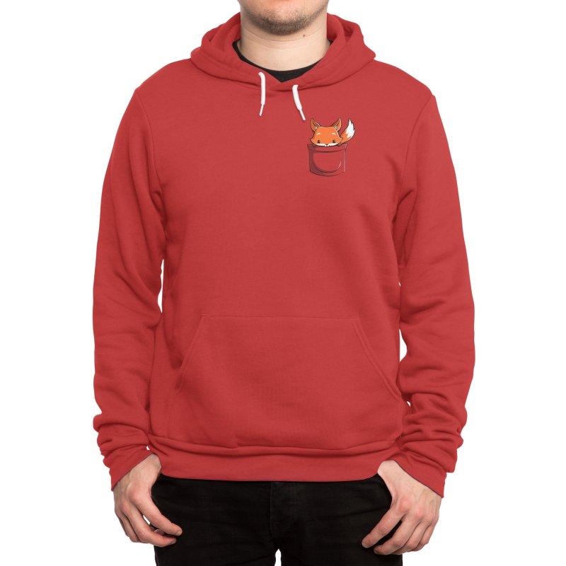 Pocket Fox Men's Pullover Hoody by Tobe Fonseca's Artist Shop