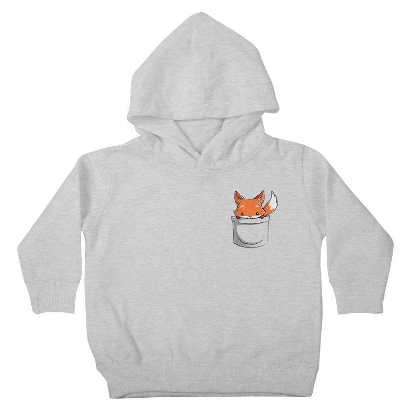 Pocket Fox Kids Toddler Pullover Hoody by Tobe Fonseca's Artist Shop