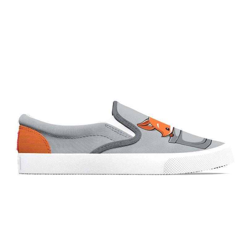 Pocket Fox Women's Shoes by Tobe Fonseca's Artist Shop