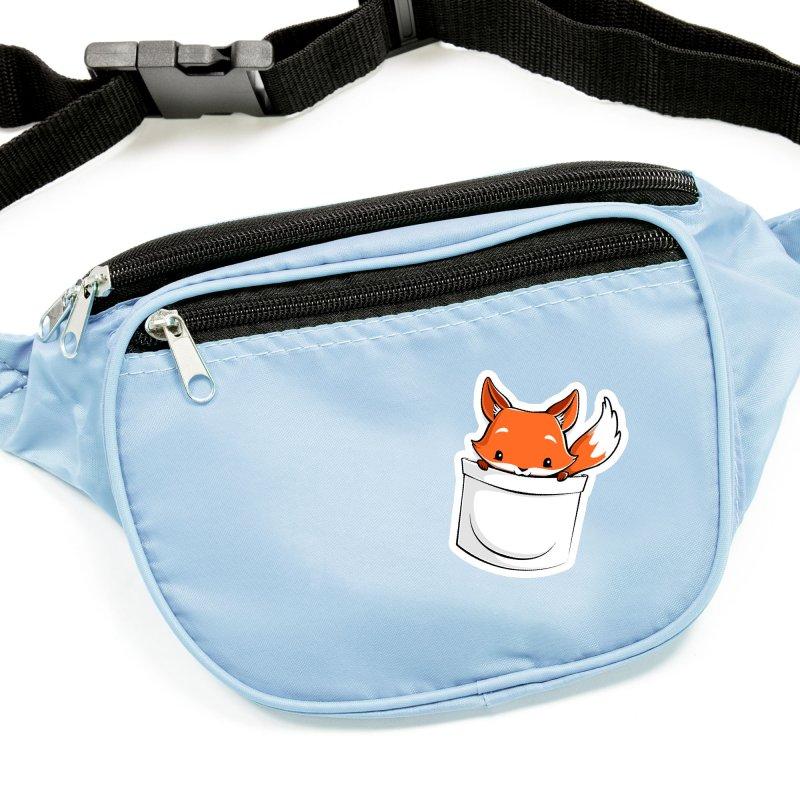 Pocket Fox Accessories Sticker by Tobe Fonseca's Artist Shop