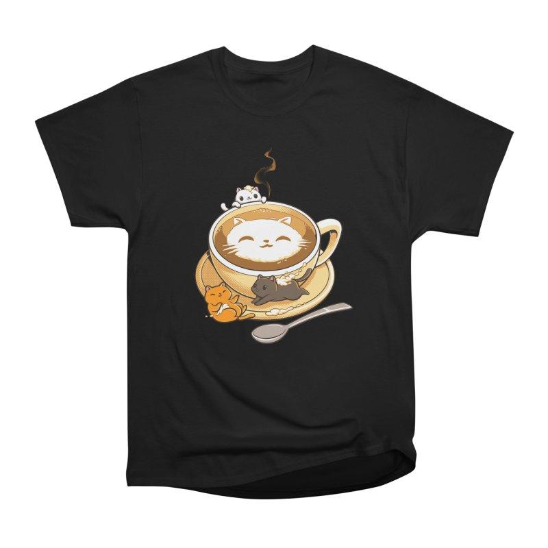 Latte Cat Women's T-Shirt by Tobe Fonseca's Artist Shop