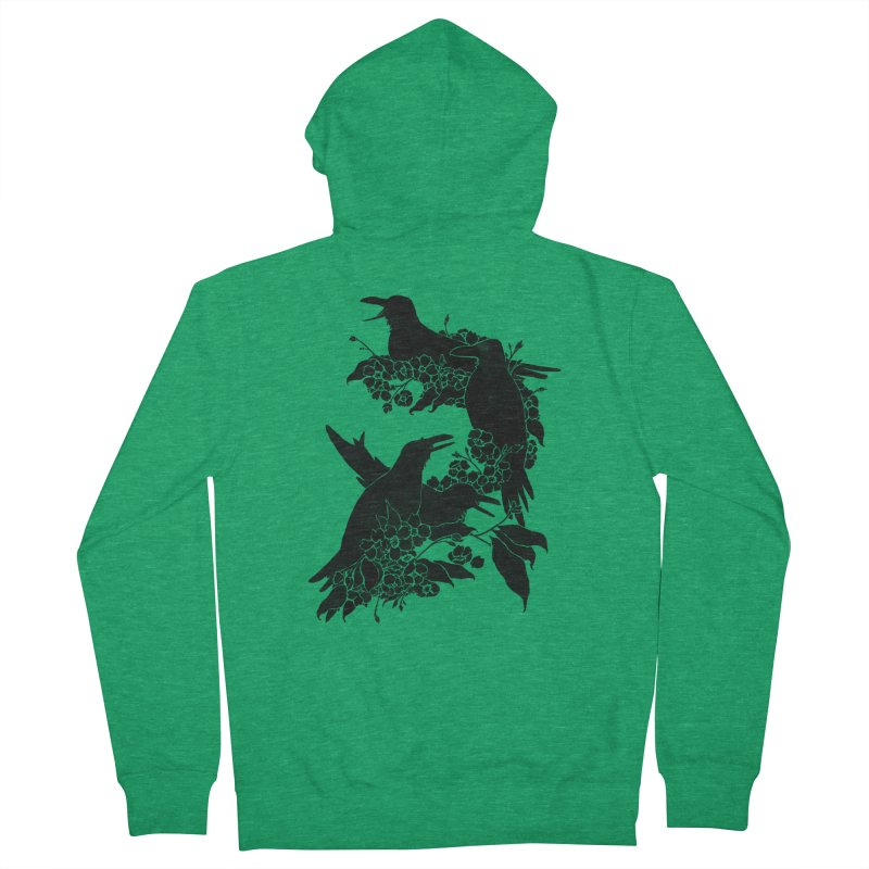 A Feast for Crows Men's Zip-Up Hoody by Tobe Fonseca's Artist Shop