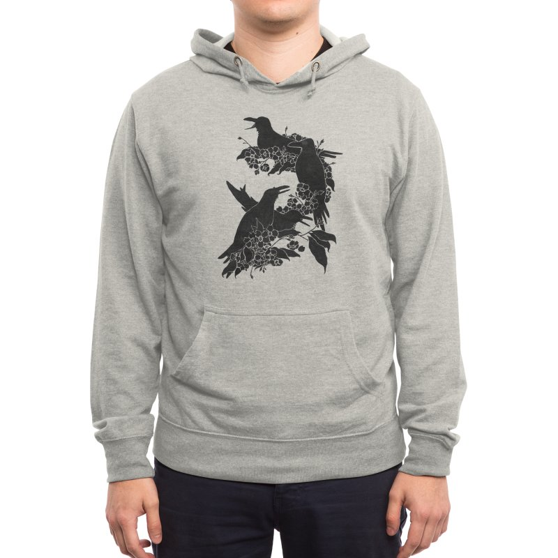 A Feast for Crows Men's Pullover Hoody by Tobe Fonseca's Artist Shop