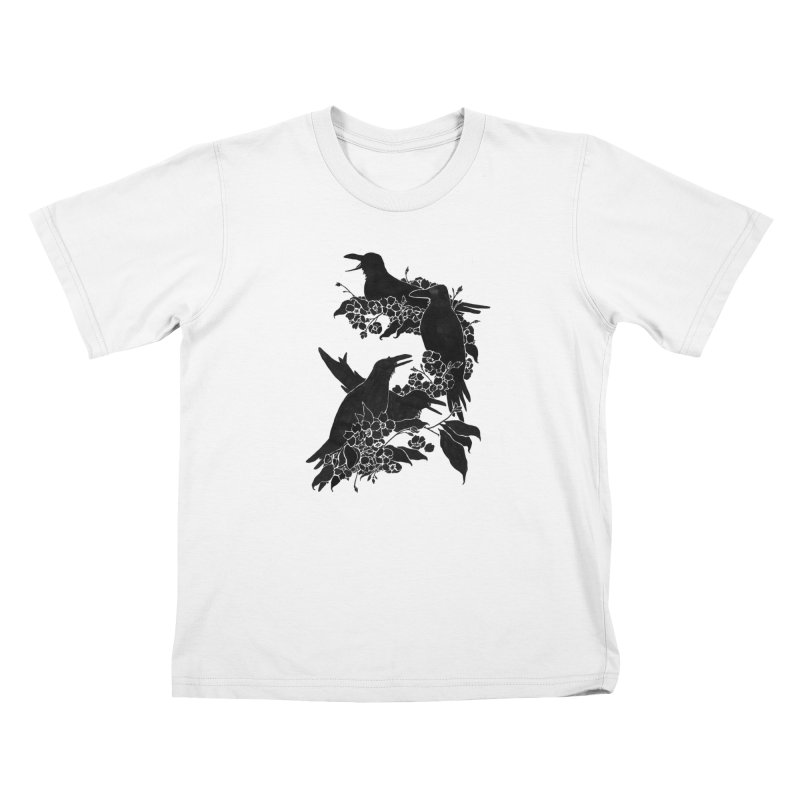 A Feast for Crows Kids T-Shirt by Tobe Fonseca's Artist Shop