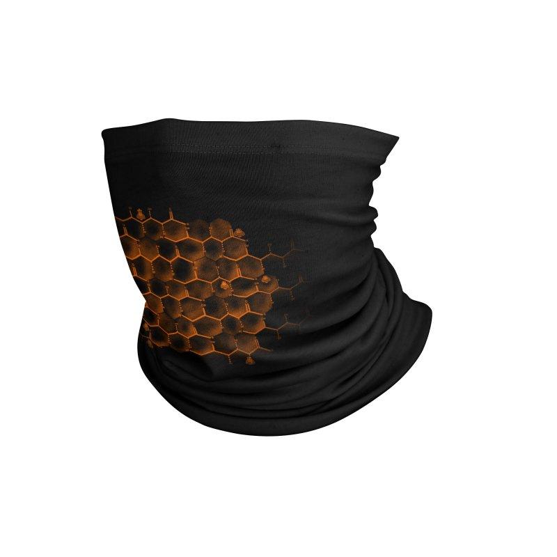 Glucose Hive Accessories Neck Gaiter by Tobe Fonseca's Artist Shop