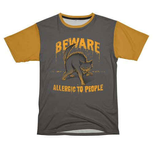 image for Beware! Allergic To People