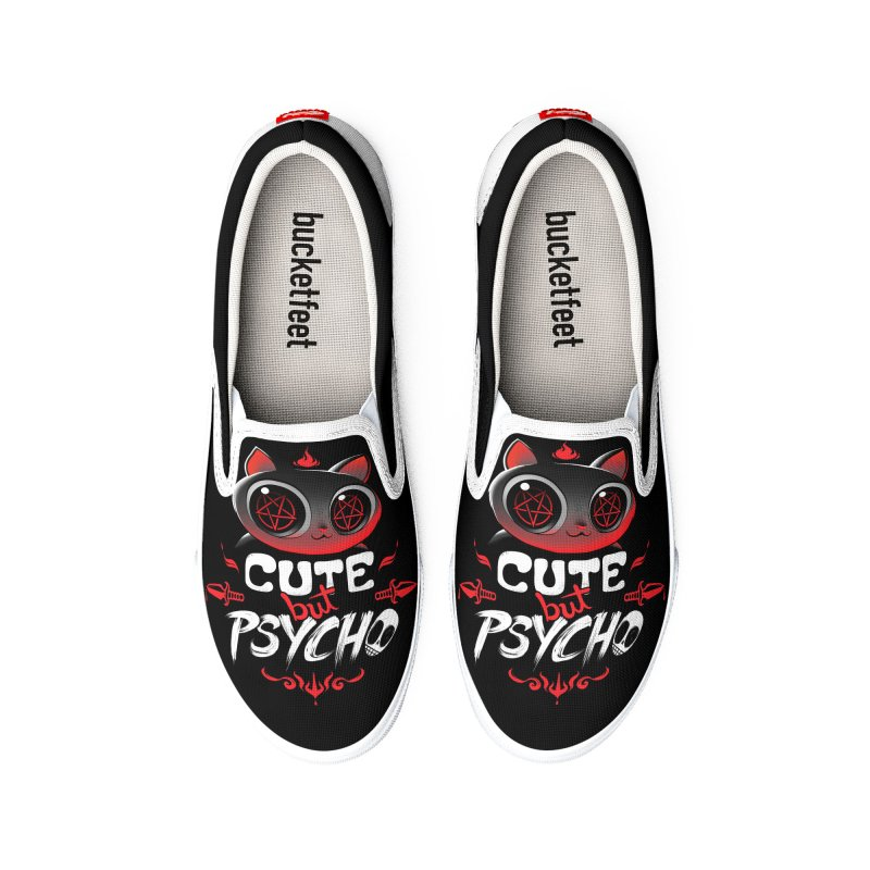 Cute But Psycho Women's Shoes by Tobe Fonseca's Artist Shop