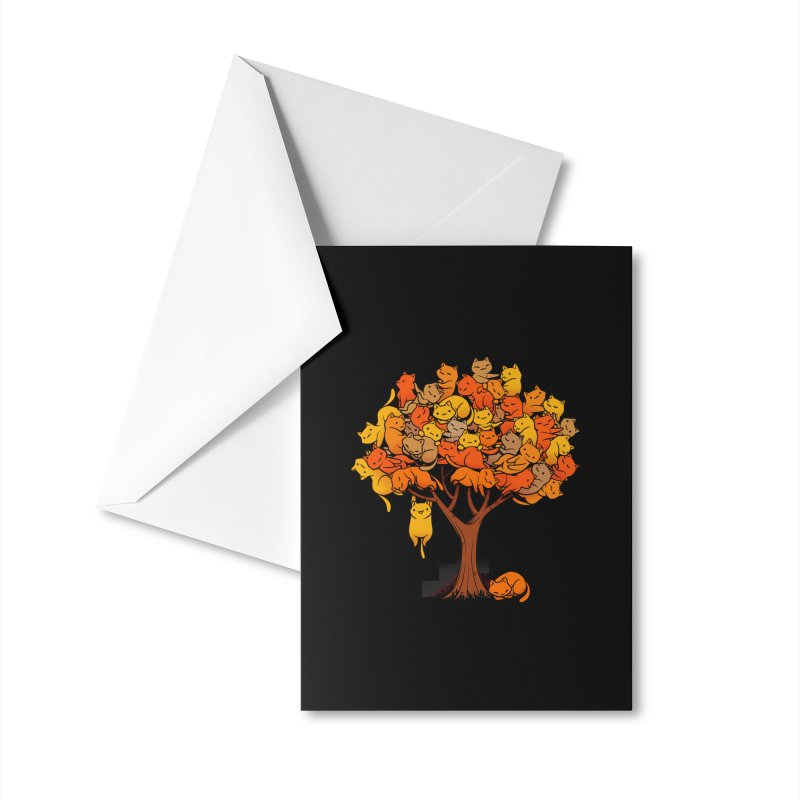 Cat Tree Accessories Greeting Card by Tobe Fonseca's Artist Shop