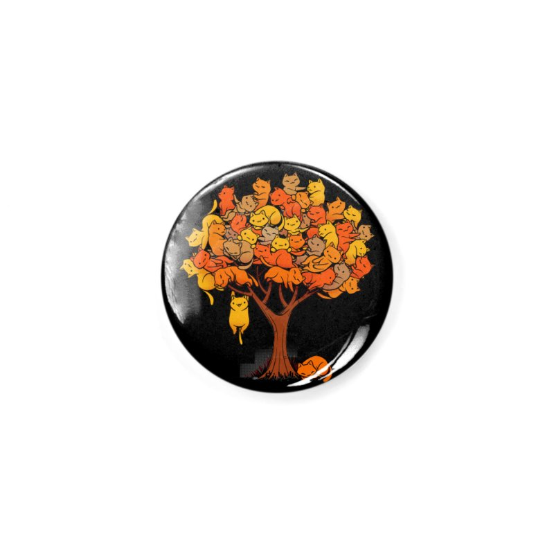 Cat Tree Accessories Button by Tobe Fonseca's Artist Shop