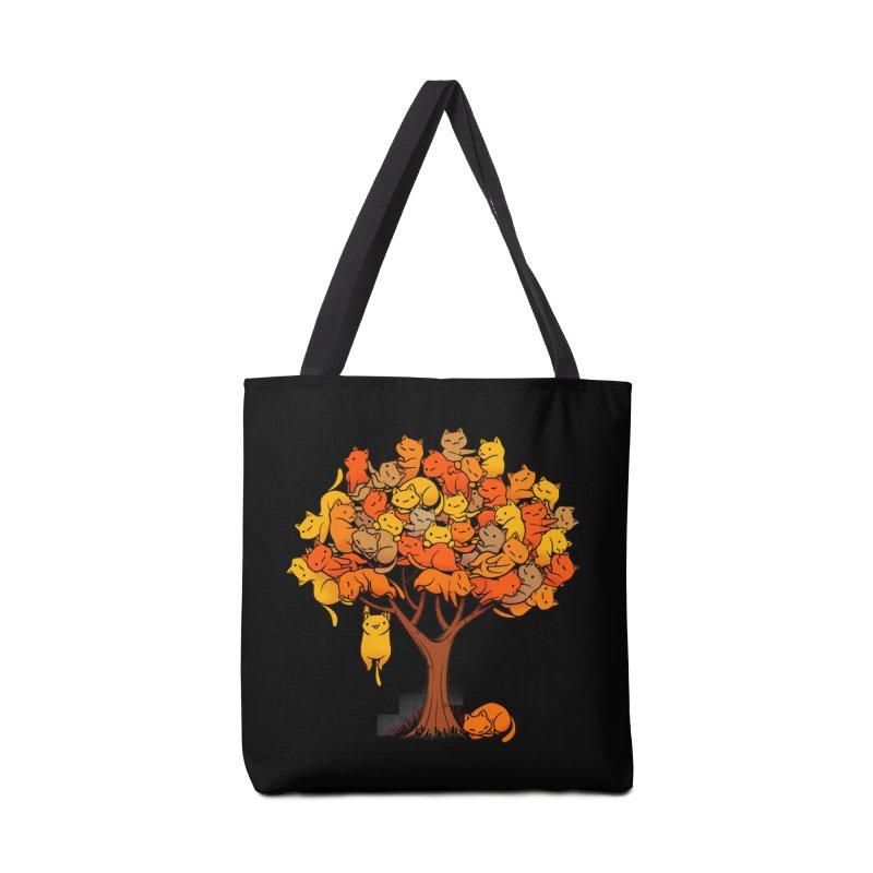 Cat Tree Accessories Bag by Tobe Fonseca's Artist Shop