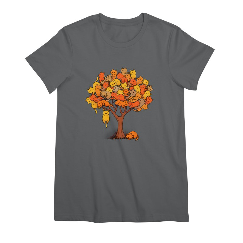 Cat Tree Women's T-Shirt by Tobe Fonseca's Artist Shop