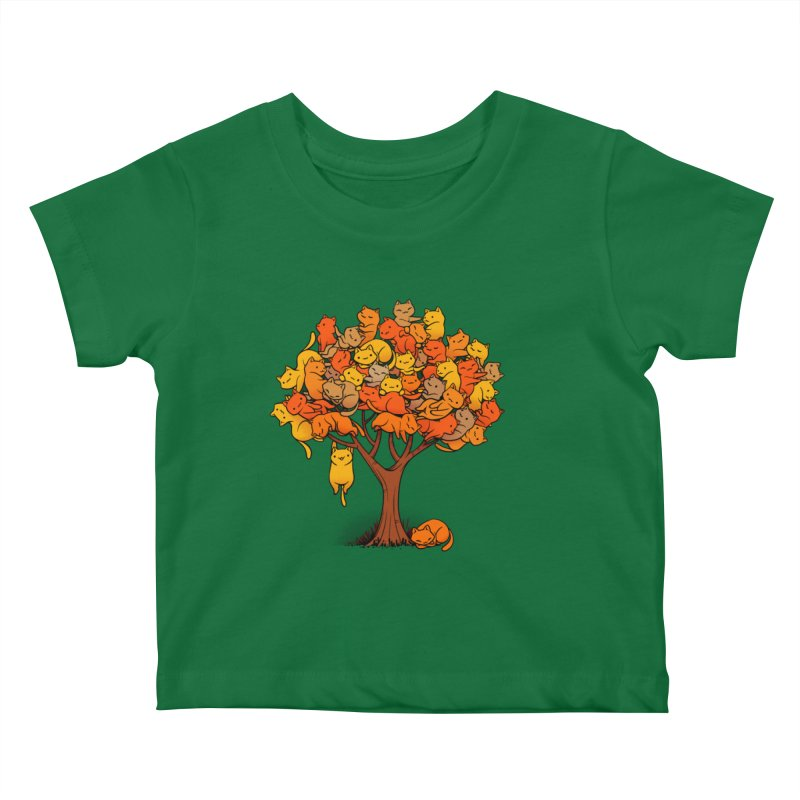 Cat Tree Kids Baby T-Shirt by Tobe Fonseca's Artist Shop