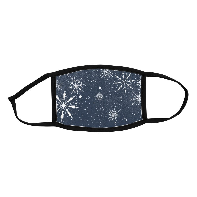 Snow Globe Accessories Face Mask by Tobe Fonseca's Artist Shop