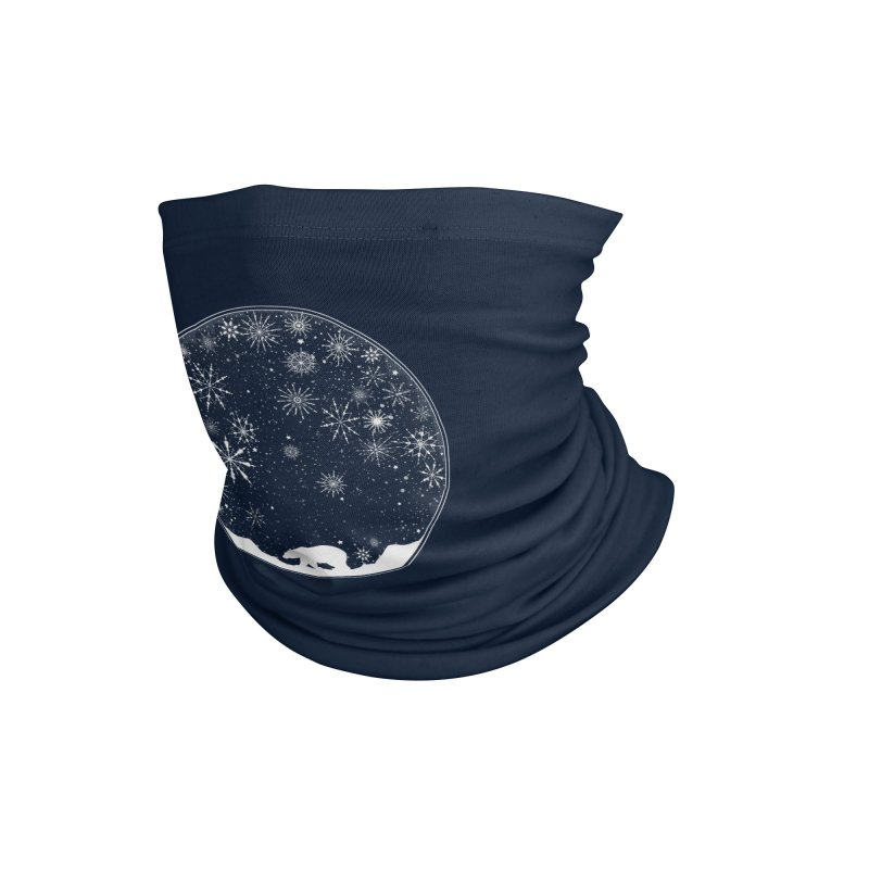 Snow Globe Accessories Neck Gaiter by Tobe Fonseca's Artist Shop