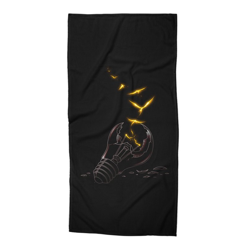 Freedom Light Bird Accessories Beach Towel by Tobe Fonseca's Artist Shop